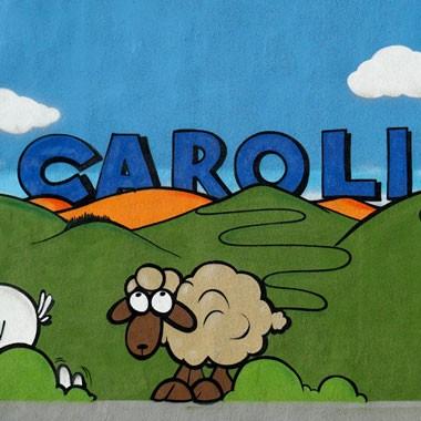Caroli meets Art: Neuer Anstrich für unser Gebäude